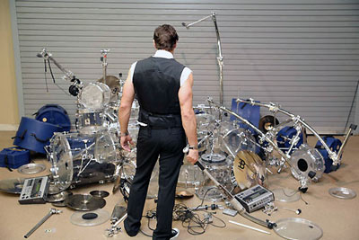 Thomas Lang ponders a drumming catastrophe